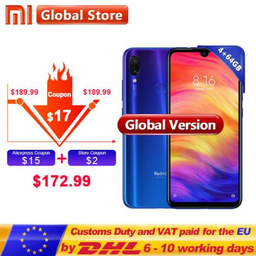 Xiaomi Redmi Note 7 64 Gb Global Version